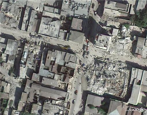 Гаїті - рік по тому. Вид зверху
