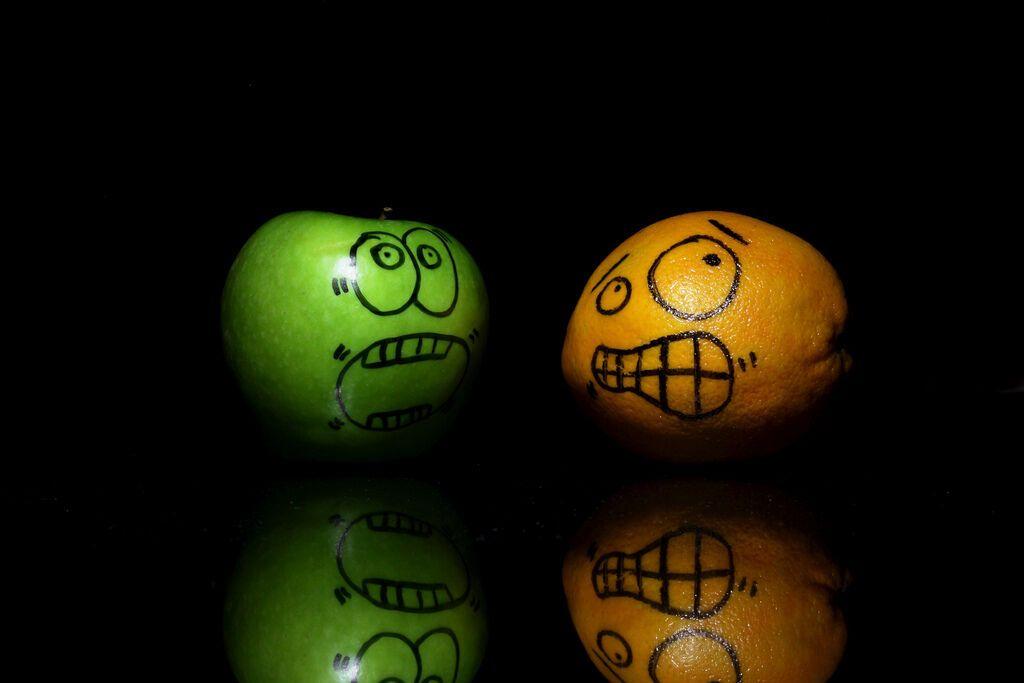 Лет, фрукты смешная картинка