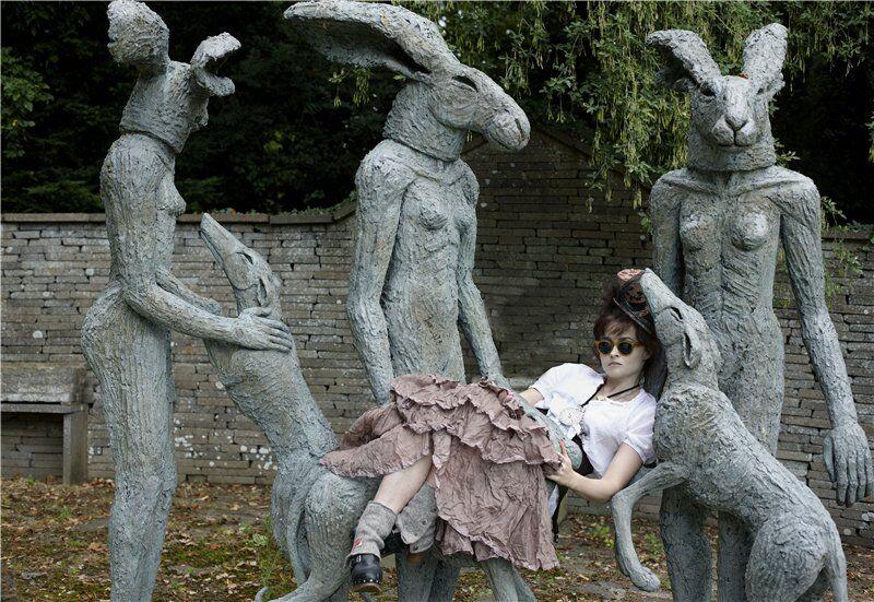 Хелена Бонэм Картер и пошлые кролики