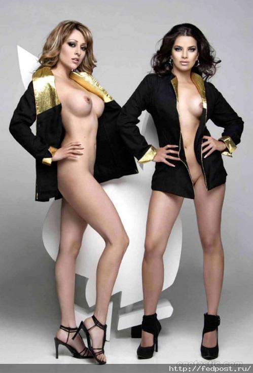 Мексиканские стюардессы разделись для Playboy. Фото