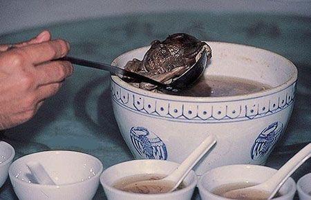 Народные обычаи: в Китае широко распространена практика поедания человеческих эмбрионов и младенцев