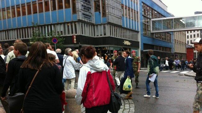 В столице Норвегии прогремел мощный взрыв. Обновлено. Фото