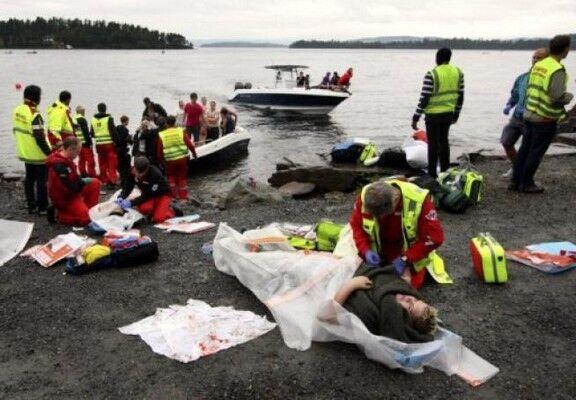 Очевидцы убийств в Норвегии: раненых детей выманивали и добивали. ФОТО