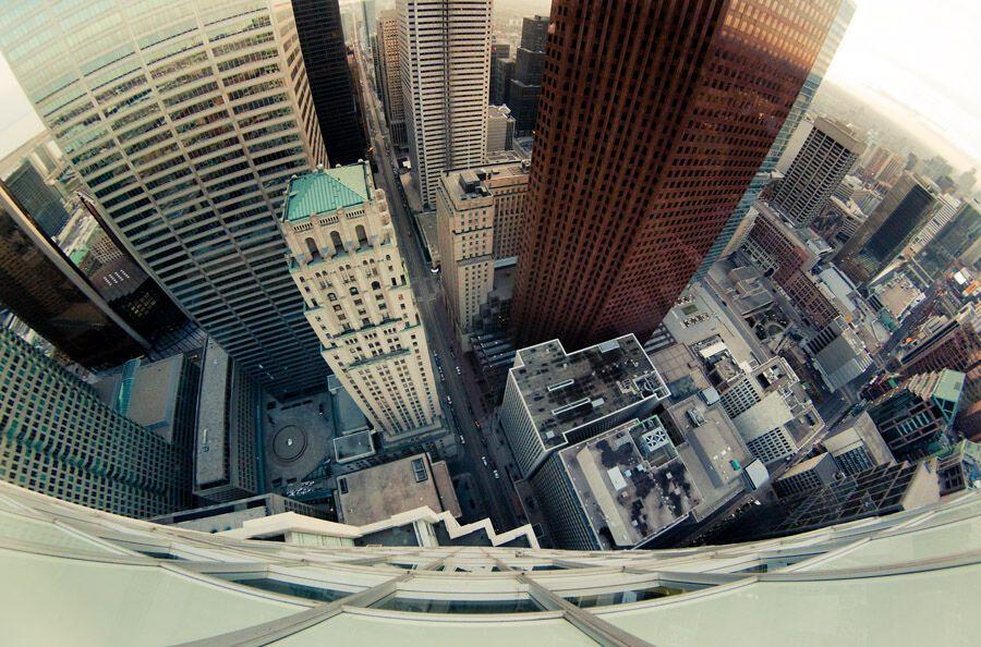 Головокружительные фото: Сверху вниз