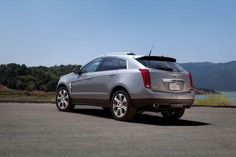 Cadillac представила кроссовер SRX 2012