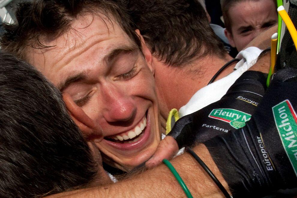 Финал велогонки Тур де Франс 2011