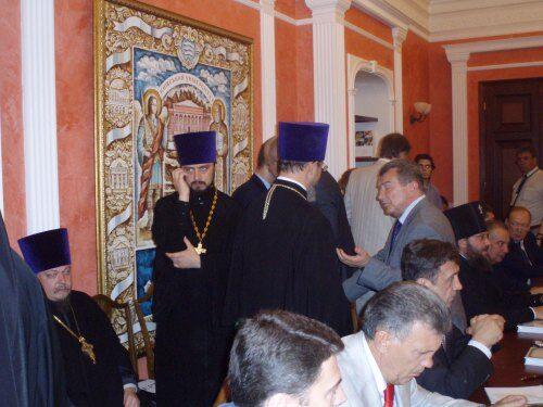 Чаленко: встреча Патриарха Кирилла и Табачника с ректорами малороссийских ВУЗов