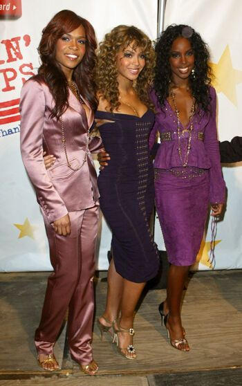 Destiny's Child ходят на вечеринки вместе