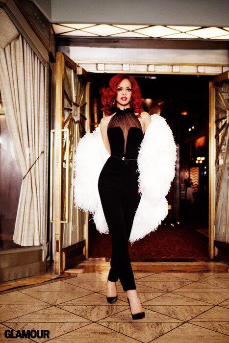 Рианна для сентябрьского Glamour