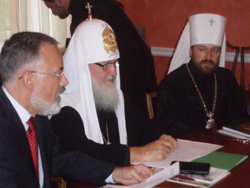 Кирилл раскритиковал Лютера, сексуальную революцию и Павку Корчагина