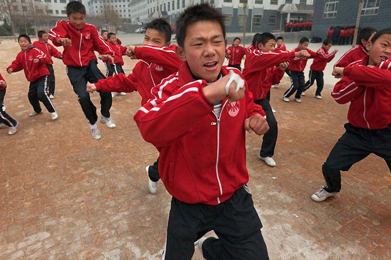 Кунг-фу современного Шаолиня