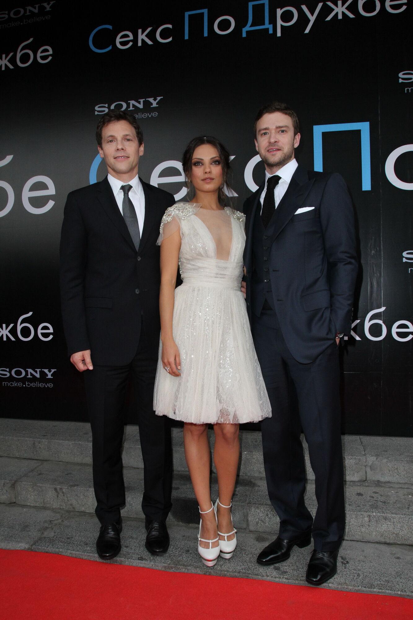 Джастин Тимберлэйк и Мила Кунис: дружеский секс в Москве