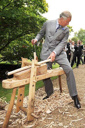 Принц Уэльский проявил таланты