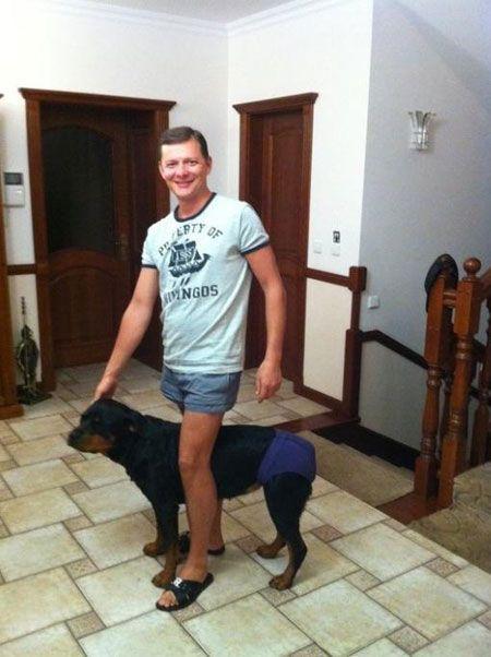 У Ляшка була собака ... Він її любив!