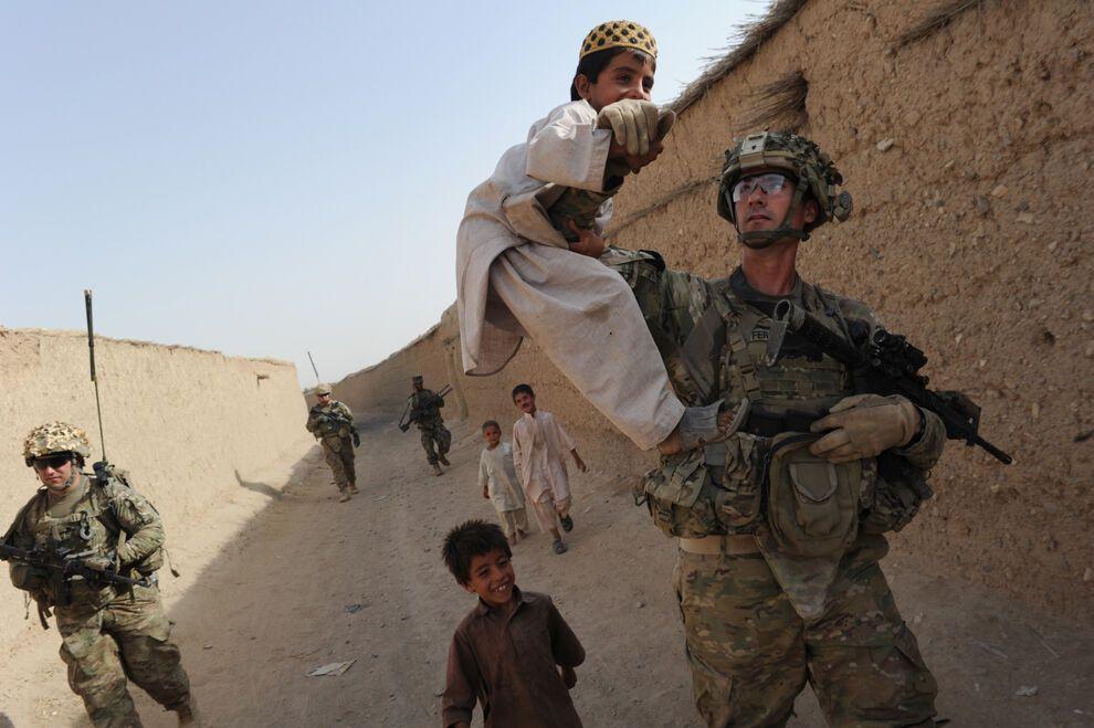 Война и женщины в Афганистане