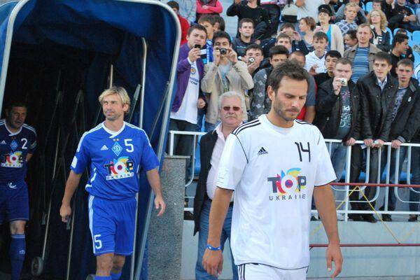 Звезды футбола приехали в Киев посмеяться. ФОТОРЕПОРТАЖ