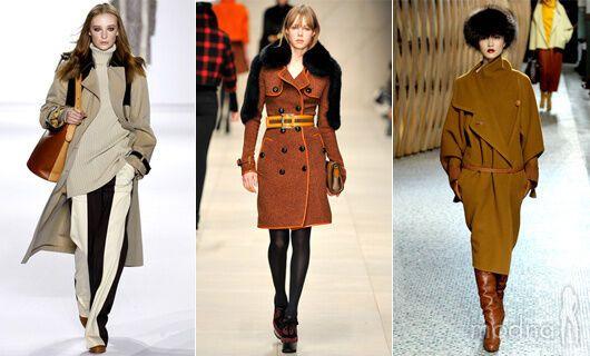пальто в ретро стиле