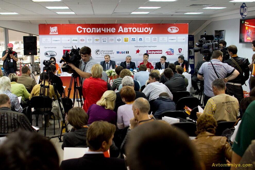 Столичное АвтоШОУ 2011 в Киеве