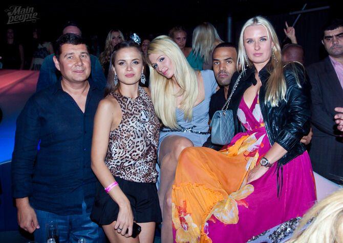 Хилтон оторвалась на Afterparty Мисс Украина