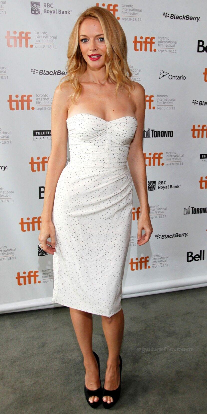 Кокетливая Хизер Грэм на кинофестивале в Торонто