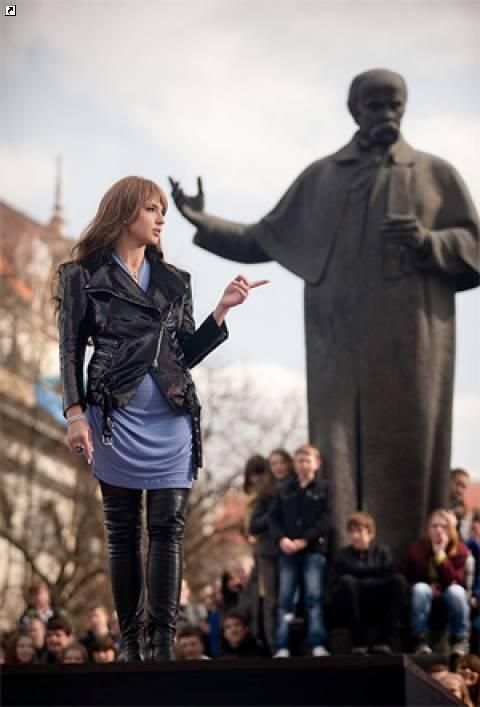 Oксана Марченко: Я точно знаю, что в этом городе умеют петь