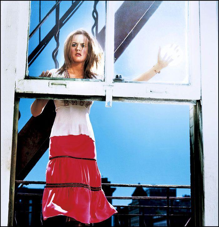 Старый концептуальный фотосет с Алисией Сильверстоун