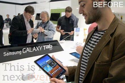 Германский суд запретил любое упоминание нового планшета Samsung