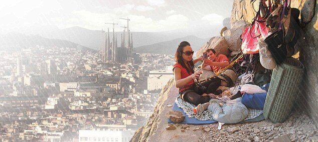 Необычный отель для скалолазов откроется в Барселоне