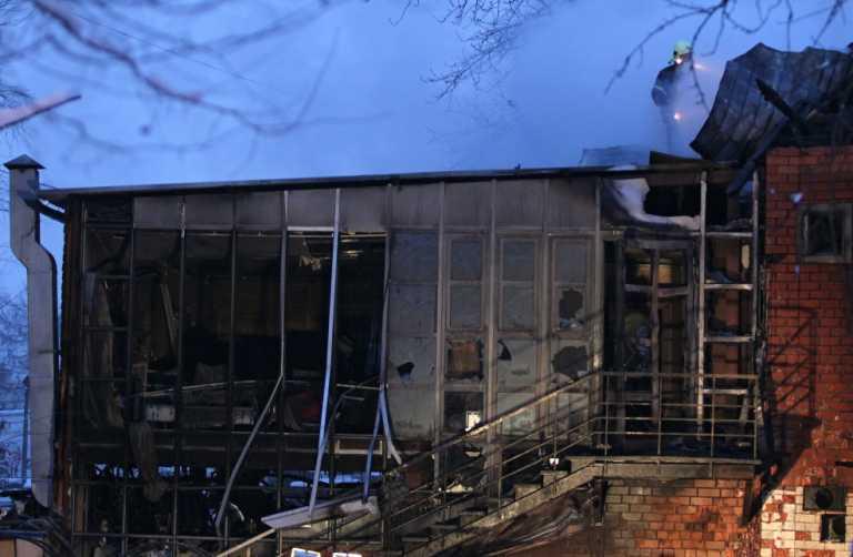 Пожежа в ресторані Москви: свідчення очевидців. Фото, відео