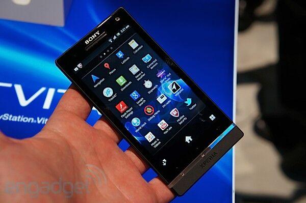 Sony представила стильный камерофон. Фото, видео