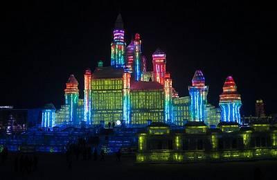 В Китае открыт ледяной город