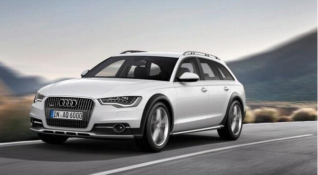 Цена на новый внедорожный универсал Audi будет кусачей. Фото