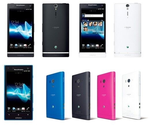 Sony представила еще два новых смартфона. Фото