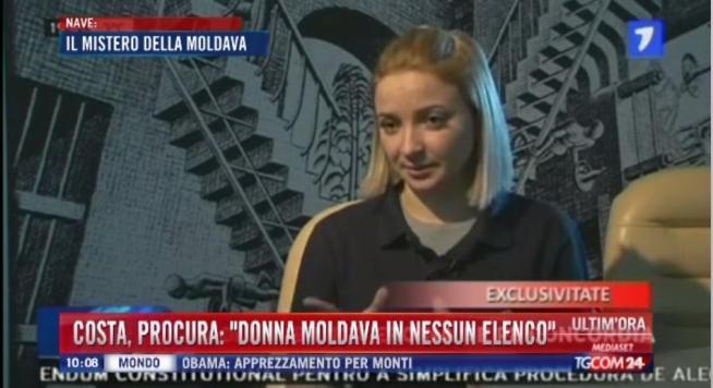 Конкордия утонула из-за белокурой молдаванки? Фото