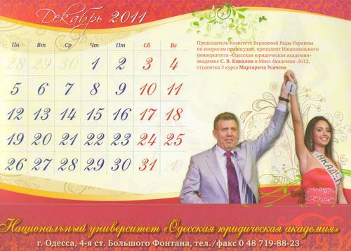 Сергій Ківалов привітав українців з Новим роком