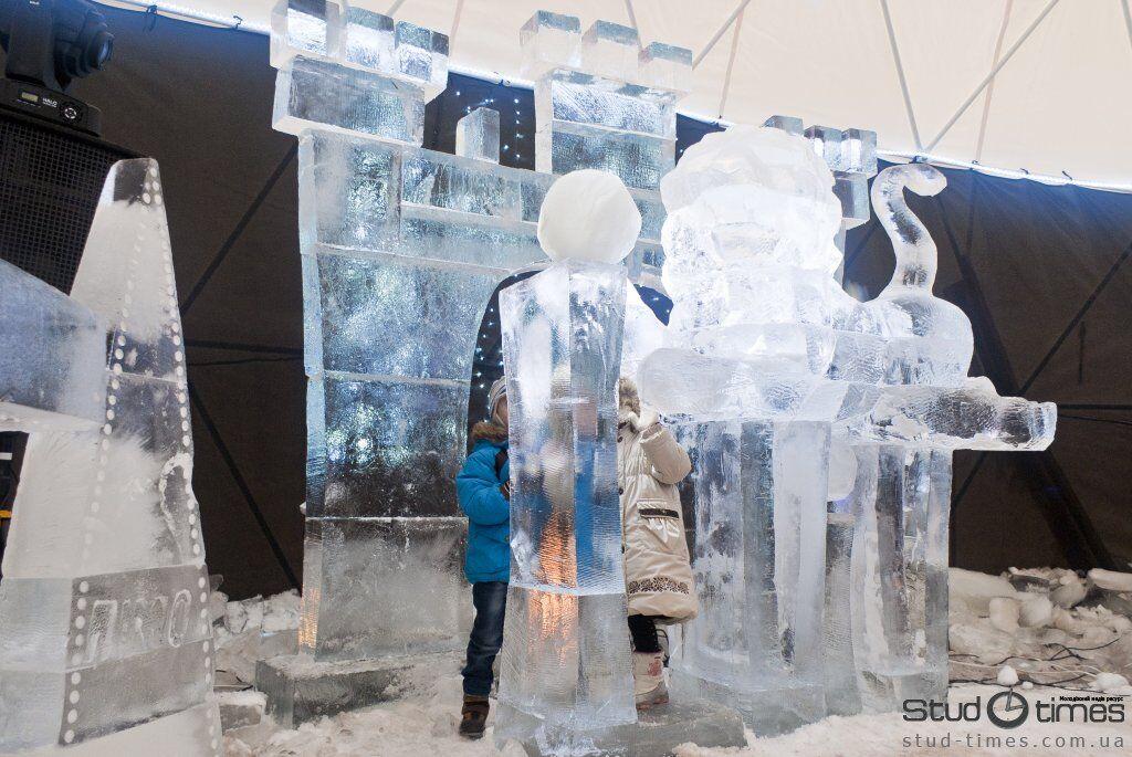 У Львові відкрився льодовий будинок. Фото, відео