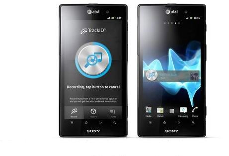 Sony представила свой первый смартфон. Фото, видео