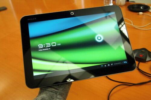 Toshiba показала самый тонкий в мире планшет. Фото