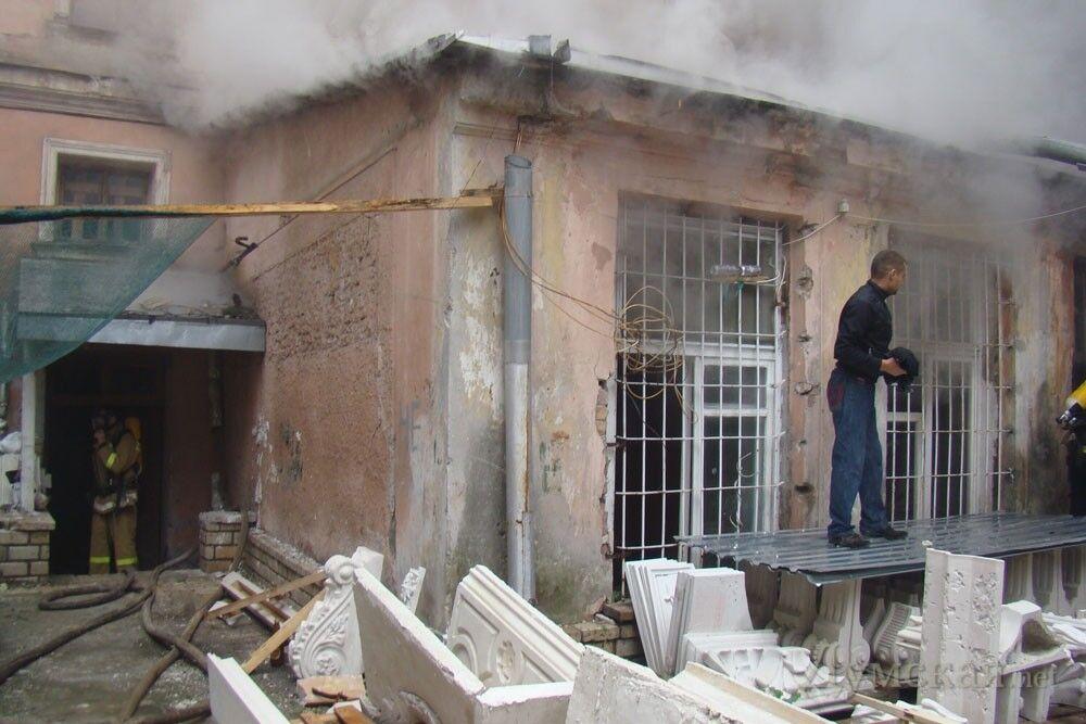 В центре Одессы сегодня дважды горел памятник архитектуры