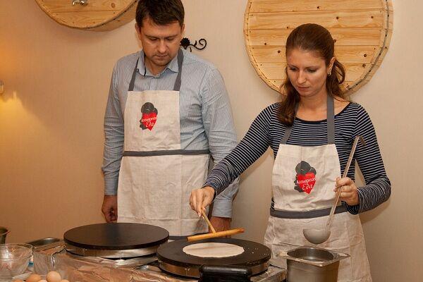 В Киеве состоялся мастер-класс по приготовлению крепов
