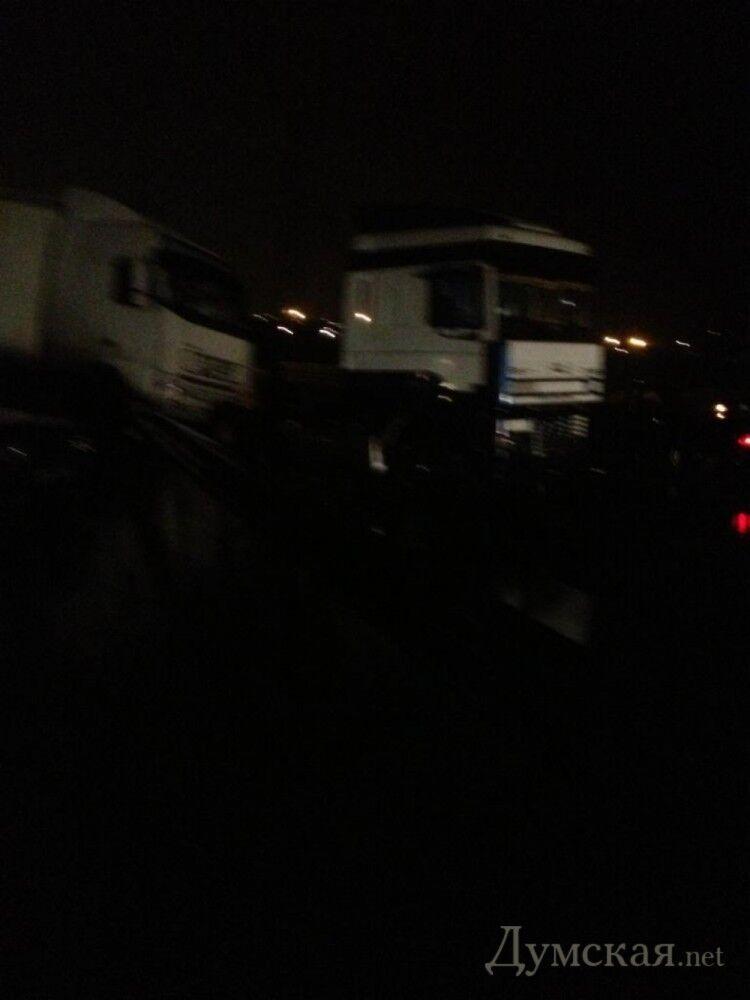 В Одессе столкнулись 40 авто