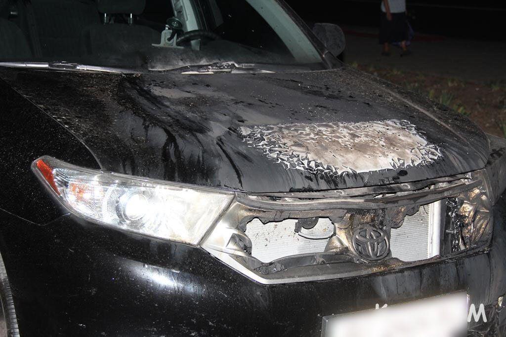 В Керчи неизвестные подожгли авто директора судоремонтного завода