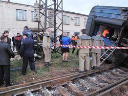 Вагон з 34 пасажирами перекинувся в Запорізькій області