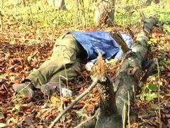 Милиция: обувь с трупа Мазурка была изъята на экспертизу. Фото