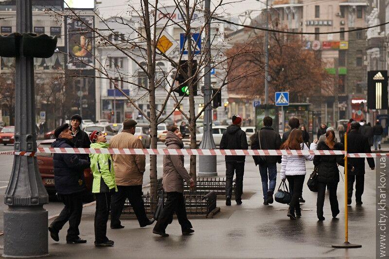 Мерія Харкова відповіла на банер Тимошенко в Римі