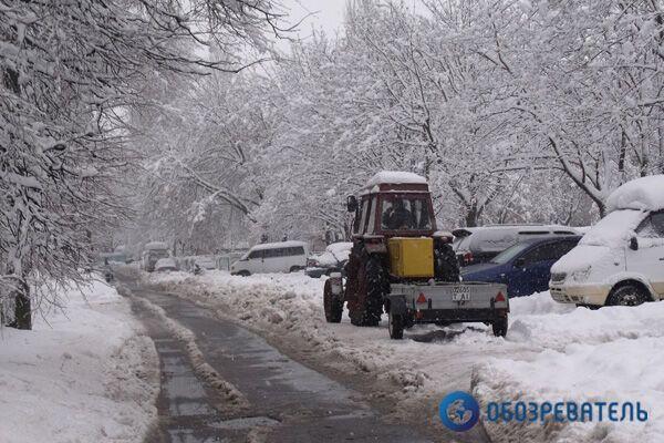 В Киеве из-за непогоды перегружено метро
