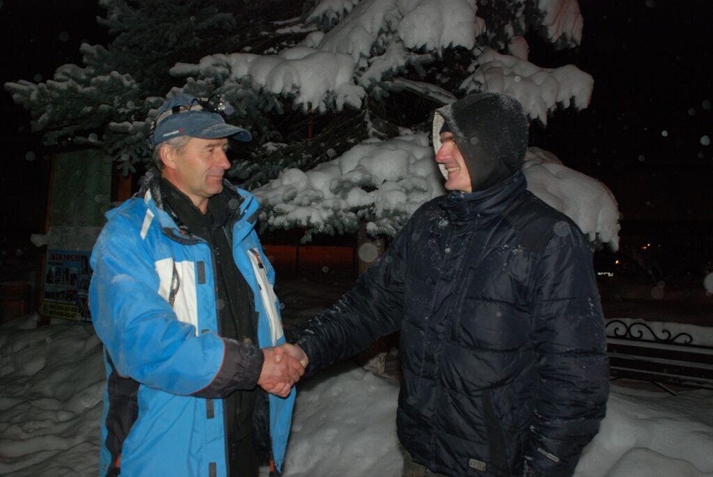 У Карпатах врятували заблукалого росіянина. Фото