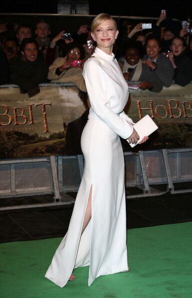 """""""Хоббит"""" в Лондоне: Галадриэль в белом"""