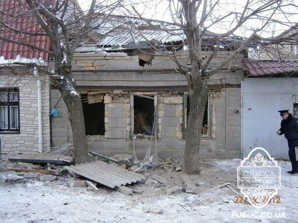 В Одесі вибухнув приватний будинок