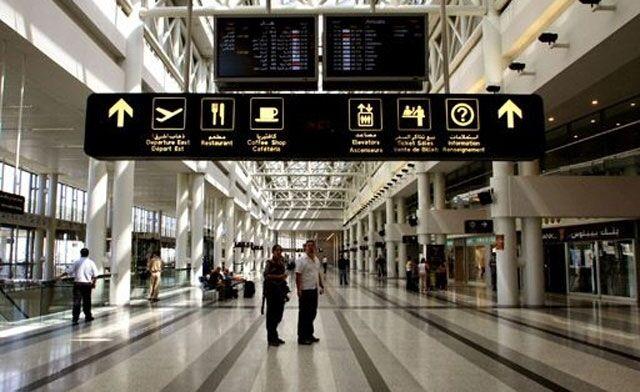 У ліванському аеропорту українка влаштувала голий протест